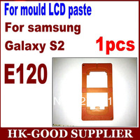 1pcs LCD refurbishment mould molds for samsung galaxy s2 E120 one LCD touch screen glass YL4115