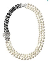 Free Shipping /S-D-J/ D*ISY PEARL NECKLACE