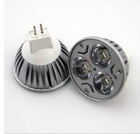 High Power LED Lamp MR16 12V 3 LED Light Lamp Bulb Spotlight 3w LED Lamp GU10