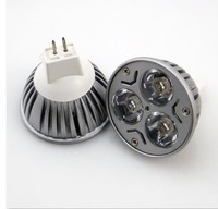 High Power LED Lamp MR16 12V 3 LED Light Lamp Bulb Spotlight 3w LED Lamp GU10