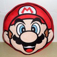 Free Shipping Super Mario Bros Mario Cushion Pillow 23cm Plush Bolster Toy Figure Retail