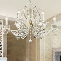 Free Shipping Modern Crystal Chandelier with 6 Lights (76cm 220-240v) 10219