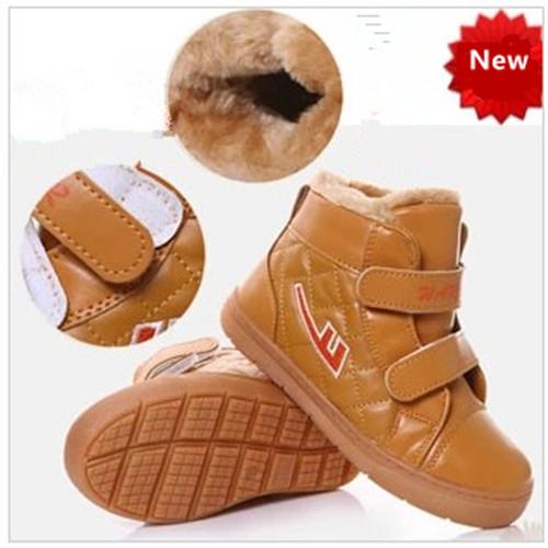 new winter Children boots shoes kids Boys Girls Waterproof cotton Fashion 1066 1-457(China (Mainland))
