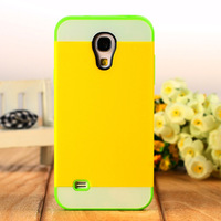 Two-color  for SAMSUNG   i9190 s4mini phone case phone case i9192 silica gel protective case i9195