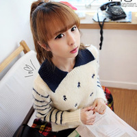 Fx 2ne1 alice long-sleeve sweater female