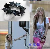 Europe and the United States with money bracelet avril lavigne avril black five-star bracelet