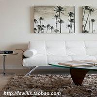 Shag carpet home living room carpet high quality solid color chromophous