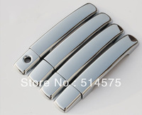 Free Shipping  Door Handle Chrome Covers Trim  for  Nissan Qashqai 2007 2008 2009 2011 2012