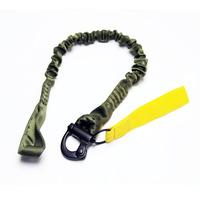 30inch Heavy elasic Quick Detachable safty lanyard for parachute Jump Outdoor Survival Climbing