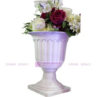 Roman road led flowerpot PVC plastic flower POTS European Roman column wedding items