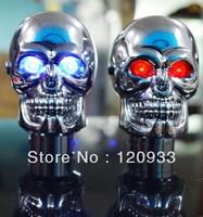 Free shipping 1Piece Universal Manual Gear stick Shift Shifter Lever Knob Skull Shifter Knob