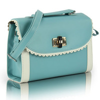 Bags 2013 women's handbag candy color preppy style handbag messenger bag