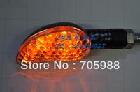 1 PAIR Refires motorcycle lighting card steering lamp led lamp beans indicator lamp flash lamp