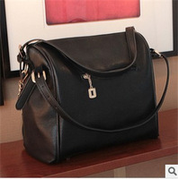 Hot-selling bags 2013 scrub patchwork bucket female bag one shoulder cross-body women's handbag