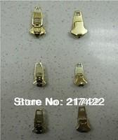 3# Copper zip head pull zipper slider for jeans