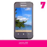 "Original Lenovo A66 3G Phone MTK6575 1024MHz Android 2.3 Dual SIM Cards 3.5"" Touchscreen GPS WIFi BT FM Radio Free Shipping"