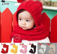 Специальное предложение детские шапка и шарф набор младенцев baby головные уборы шапки mz1625