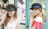 Free shipping hot sale pure colour  cotton cap