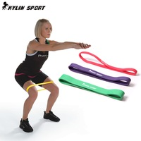 Natural Latex training equipment ring fitness Yoga exercise Fitness Crossfit Continuous Loop Pull up Assistance resistance bands