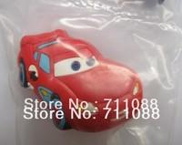 Prevent crash red car handle Soft Cartoon handle environmental cabinet drawer handle children's room knob kid's favorite handle