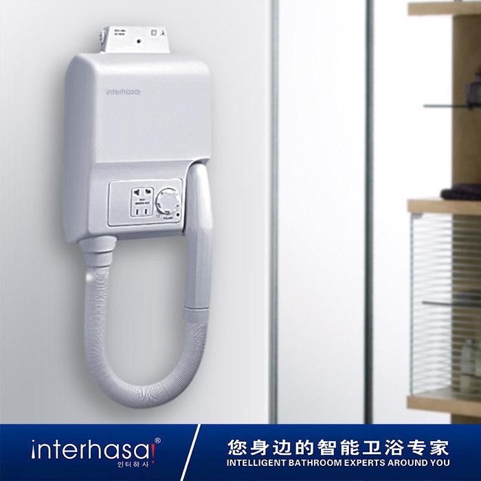 FREESHIPPING 800W POWER Bathroom hair dryer wall-mounted hair dryer thermostatic wall dry skin hair dryer dry skin machine(China (Mainland))