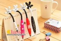 Wholesale free shipping creative cute Japan mickey mouse palm ballpoint pen 0.5 pen cartoon pen
