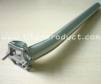 Titanium SeatPost 27.2/31.6MM/CNC Head/Setback 25mm