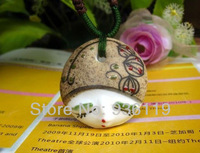 2014 new ceramic  facebook  necklace pendant for girl  jewellery