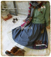 Женское платье women long sleeve large size knitted wool bohemian dress patchwork