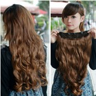 long curly hair extensions high temperature Fiber hair(China (Mainland))