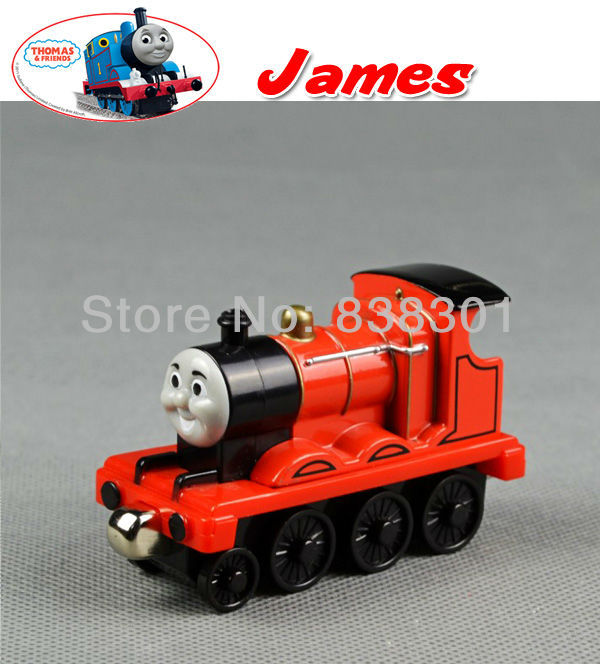 Free Shipping Brand New Thomas The Train Diecast Toys The Tank Engine Take Along Train Vehicle James Loose In Stock(China (Mainland))