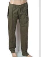 2013 New Casual Style Pockets Men's Long Pants Army Green Black Khaki