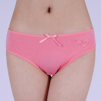 Comfortable sports type 100% cotton panty young girl 100% cotton briefs