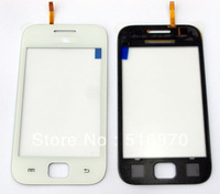 20pcs/lot Touch Screen Digitizer for Samsung Galaxy Ace Duos S6802 white color free shipping by DHL EMS