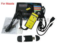 USB AUX MP3 Adapter Digital Music CD interface audio media Changer For Mazda 323/5/6/CX7/MX5/MPV/Miata