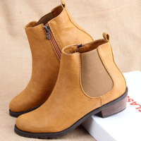 2013 fashion fashion handsome martin boots side zipper boots spring and autumn single boots female