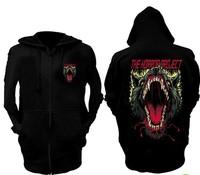 hate hero iron fist dead death metal punk rock ghost step dance Wei Yi Street, coat sweater