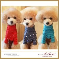 Free Shipping Hot Star and Moon Pet Base Shirt Pet Clothing