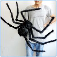 Terrorist big spider, 120 cm, trick toys, bars, dance decoration; Halloween, Christmas prop