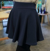 2013 all-match basic puff skirt pleated skirt sun female high waist slim hip short skirt bust skirt