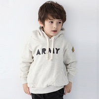 Free shipping 2013 best selling kids autumn and winter Autumn sweater pullover bay boys Army style hoodies warm clothes, C039