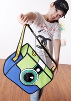 EE 2013 fashion women bags special 2D cartoon shoulder bags designer women bags free shipping