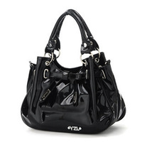 2013 New Arrival PU Leather Fashion Design Women's Messenger One Shoulder Handbag , High Quality Bag For Woman , Retail
