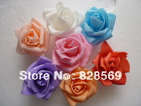 Free shipping PE foam rose flower handmade DIY wedding home decoration artificial flower made flower balls and hand flower