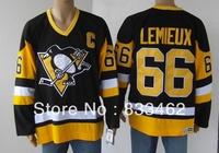 # 66 Lemieux Ice hockey jersey,brand logos free shipping