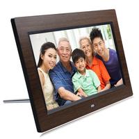 10.1 cherry wood grain high definition digital photo frame electronic photo album photo frame