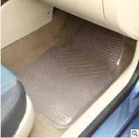 Pvc plastic transparent summer car mats four seasons general slip-resistant waterproof car mats car mats 4