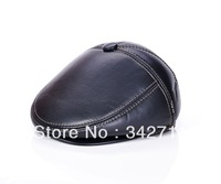 4811 Men's imitation leather advancing Soviet advance hat winter hat ear protection cap male models