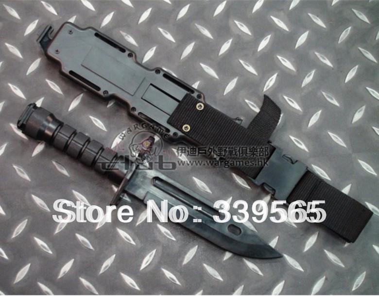 Uygun m 16 cosplay sahne oyuncak bıçak modeli kın ücretsiz nakliye