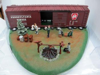 Lionel train model ho model railroad hobo hotel 6 - 37940